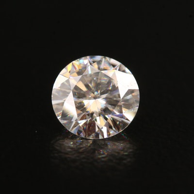 Loose Laboratory Grown Round Faceted Moissanite