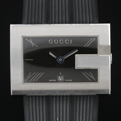 Gucci 100 G - Case Stainless Steel Quartz Wristwatch