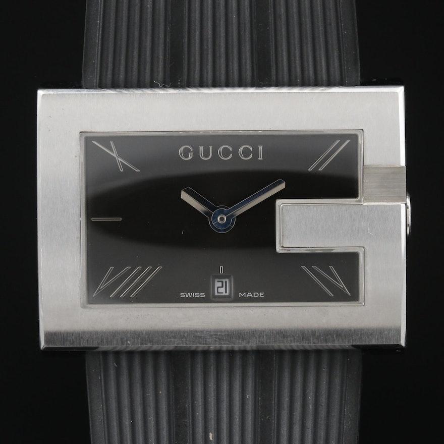 Gucci 100 G - Case Stainless Steel Quartz Wristwatch