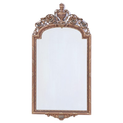 Neoclassical Style Giltwood and Composition Mirror, Early 20th Century