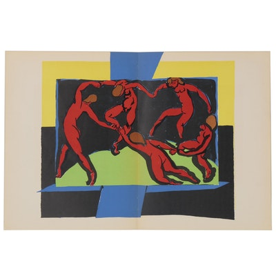 "Henri Matisse Color Lithograph and Linocuts for ""Verve"", 1938"