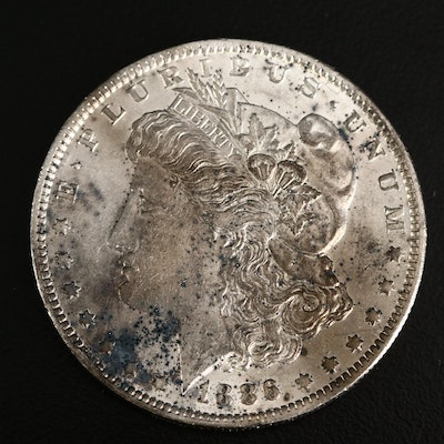 Better Date 1886-O Morgan Silver Dollar