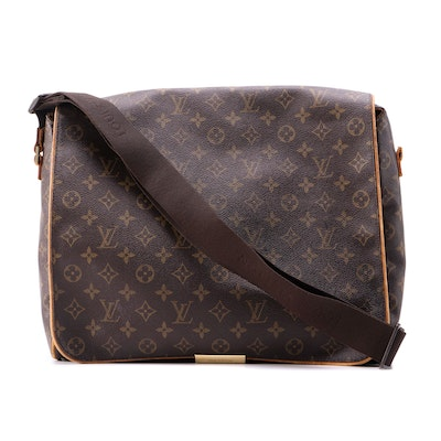 Louis Vuitton Abbesses Messenger Bag in Monogram Canvas