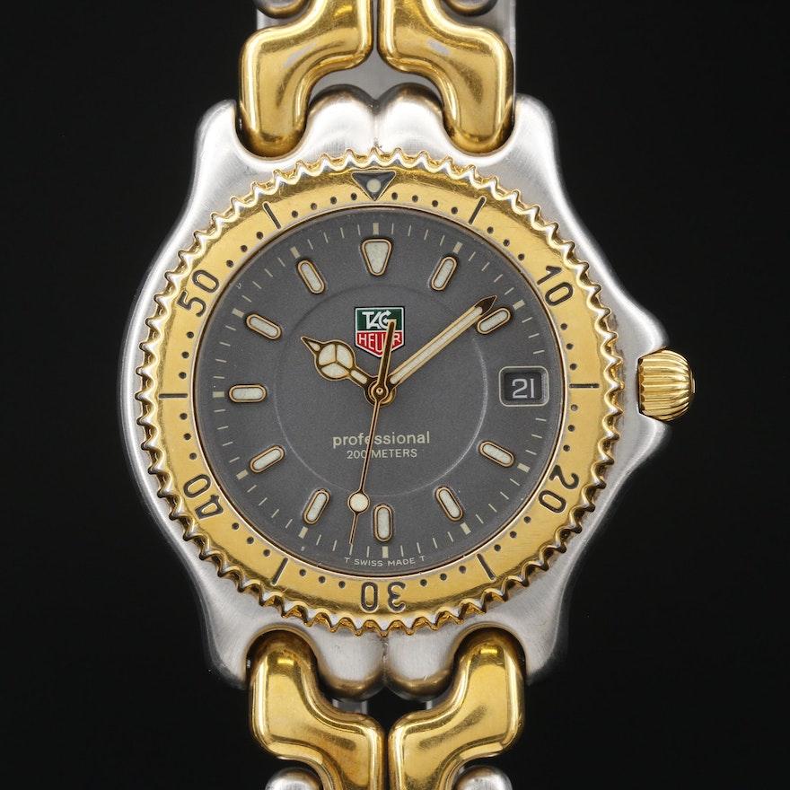 TAG Heuer 200M Stainless Steel Quartz Wristwatch