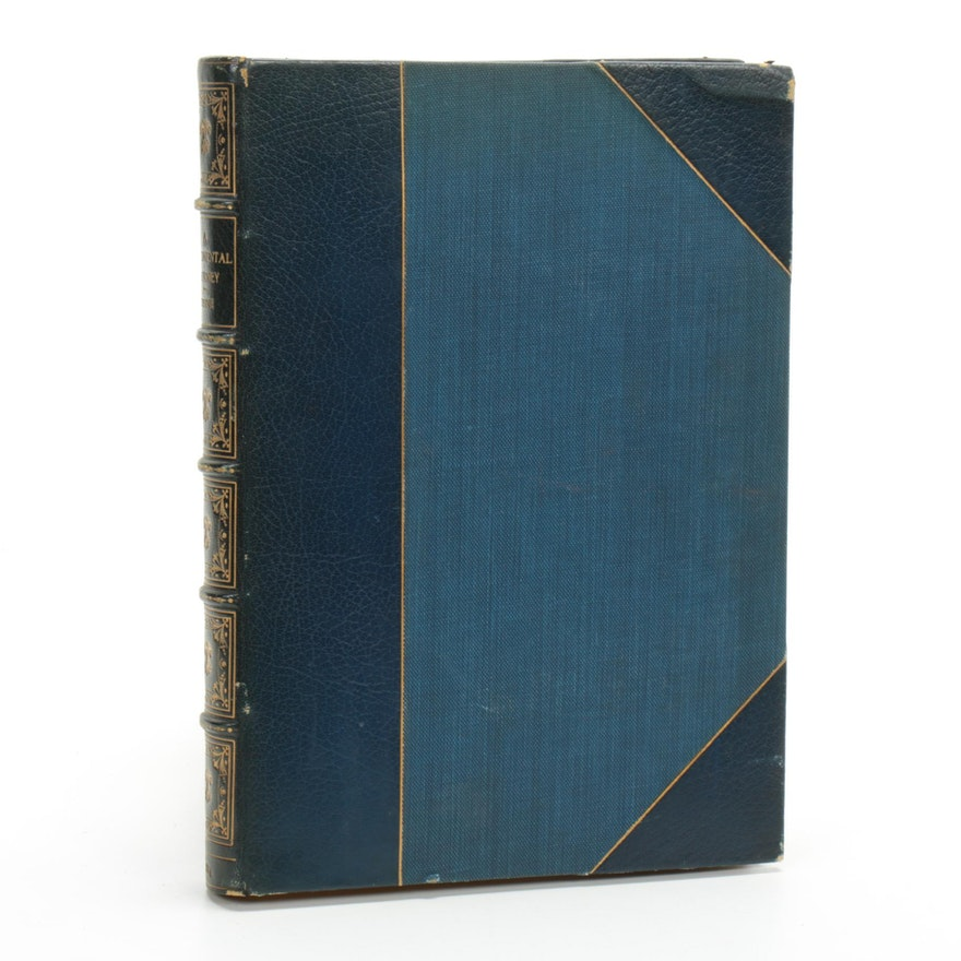 """""""A Sentimental Journey Through France and Italy"""" by Laurence Sterne, 1884"""