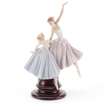"Lladró ""Merry Ballet"" Porcelain Figurine Designed by Salvador Debón"