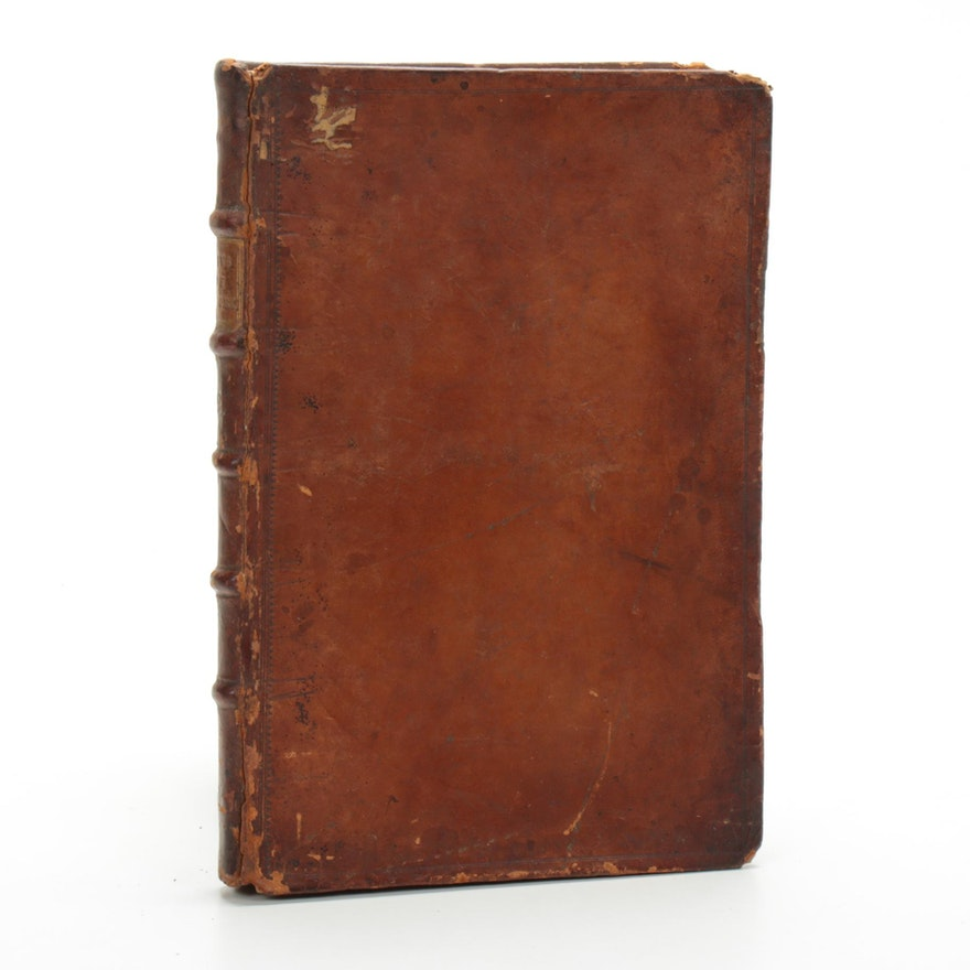 """""""The Laws of New York from The 11th Nov. 1752, to 22nd May 1762"""",  Second Volume"""