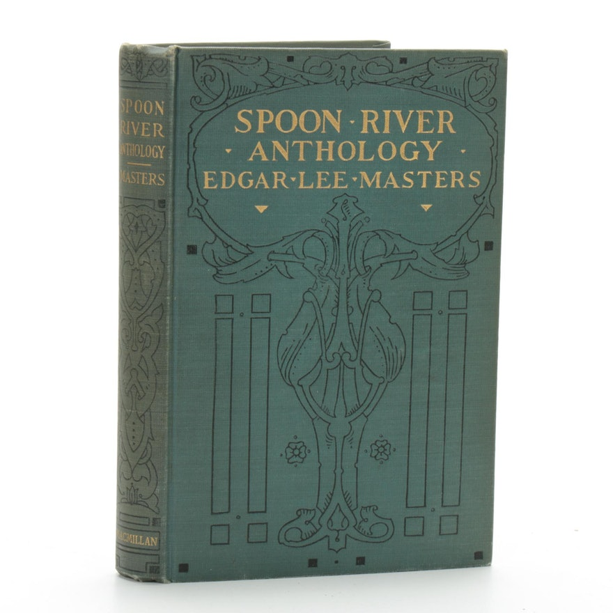 """First Edition """"Spoon River Anthology"""" By Edgar Lee Masters, 1915"""