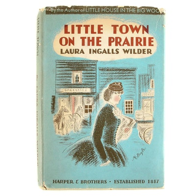 "First Edition ""Little Town on the Prairie"" by Laura Ingalls Wilder, 1941"