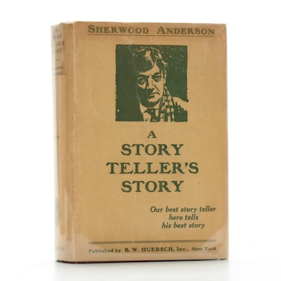 "Signed First Edition ""A Story Teller's Story"" by Sherwood Anderson, 1924"