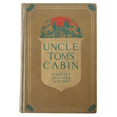 "Illustrated ""Uncle Tom's Cabin"" by Harriet Beecher Stowe, 1897"