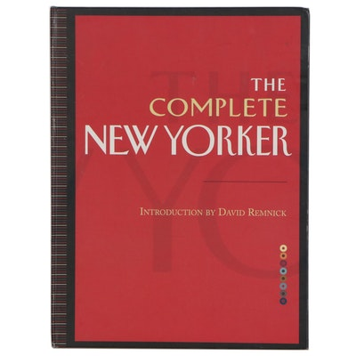 "First Edition Portfolio with DVDs ""The Complete New Yorker"", 2005"