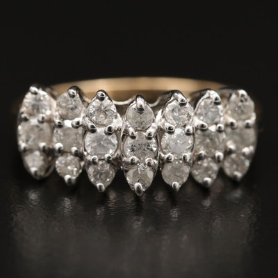 14K 1.05 CTW Diamond Ring