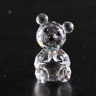 Swarovski Crystal Teddy Bear Figurine