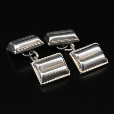 1946 Robert Lee Morris of London, UK Sterling Silver Cufflinks