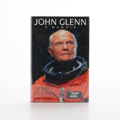 "Signed ""John Glenn: A Memoir"" by John Glenn with Nick Taylor, 1999"