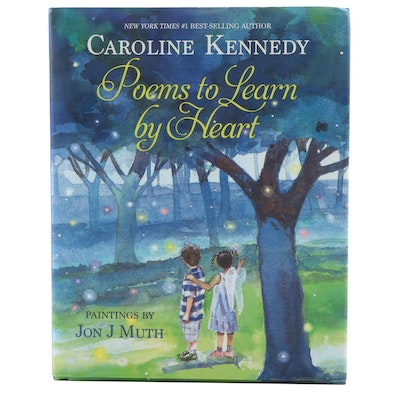 "Dual Signed First Edition ""Poems to Learn by Heart"" by Caroline Kennedy, 2013"
