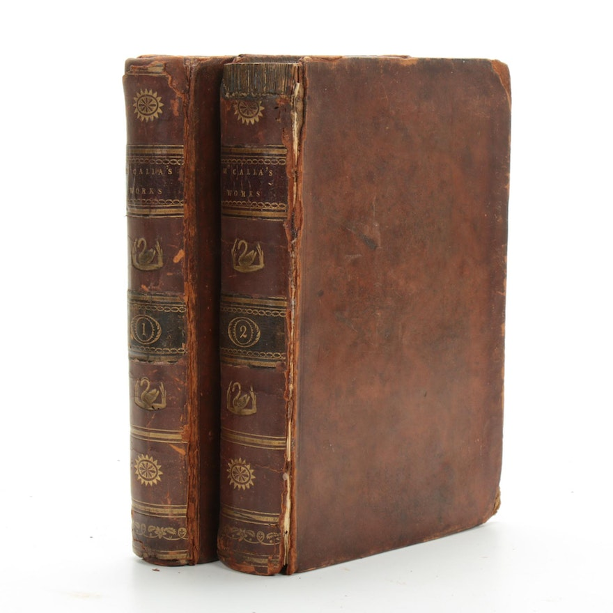 """""""The Works of The Rev. Daniel M'Calla, D.D. In Two Volumes,"""" 1810"""