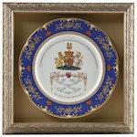 Framed Aynsley China Royal Wedding Commemorative Plates