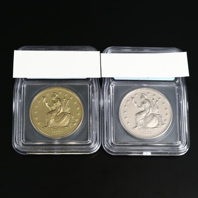 2004 Reproduction of 1871 Longacre Indian Princess Dollar Coins