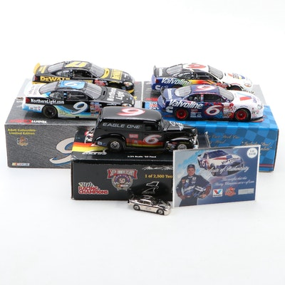 Mark Martin, Jeff Burton, Matt Kenseth, Diecast Cars and More
