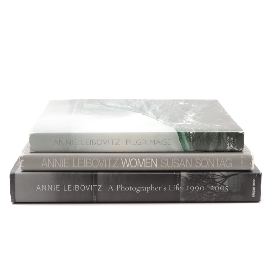 Annie Leibovitz Photography Books Featuring Signed and First Editions