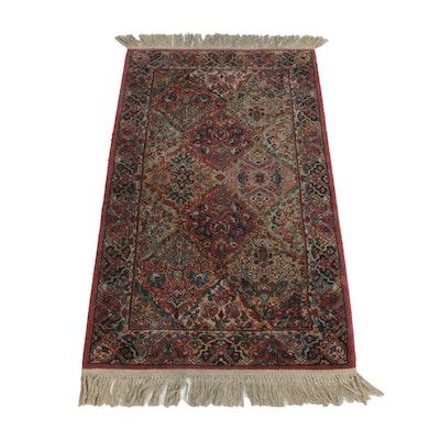 2'11 x 5'7 Machine Made Karastan Floral Wool Accent Rug
