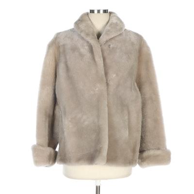 Alaska Fur Company Mouton Jacket, Mid-20th Century