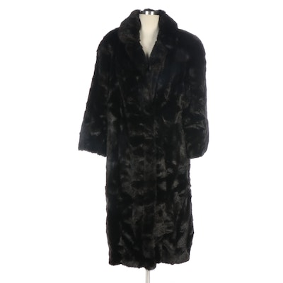 Style VI Ltd. Faux Fur Coat for Gidding Jenny, Vintage