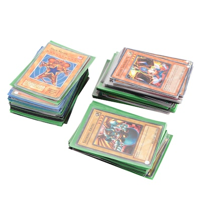 """Yu-Gi-Oh! Trading Cards, Including """"Dark Master"""" and Other Holo Cards"""