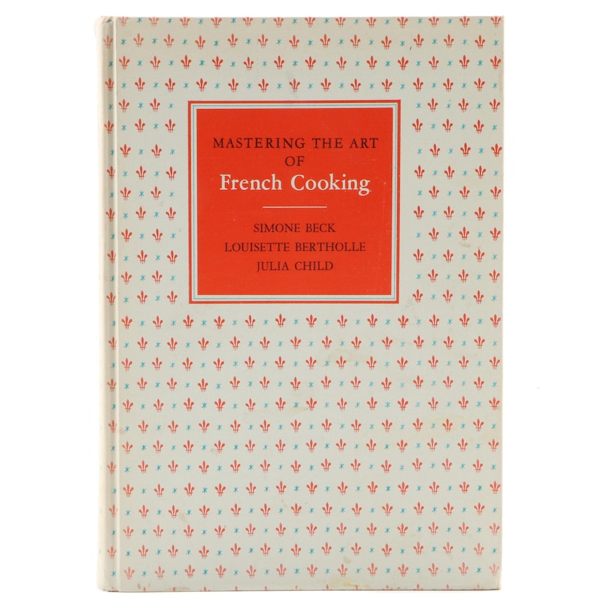 """Signed """"Mastering the Art of French Cooking"""" by Julia Child with COA, 1963"""