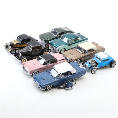 Limited Edition 1957 Ford Thunderbird and Other Model Cars