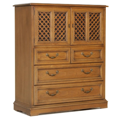 "Drexel Furniture ""Esperanto"" Oak Chest of Drawers, Mid-20th Century"