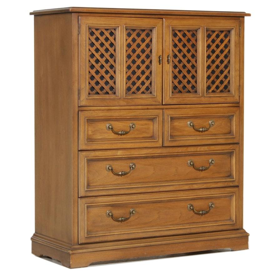 "Drexel Furniture ""Esperanto"" Oak Chest of Drawers, Mid-20th Century"
