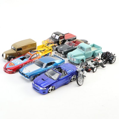 Limited Edition 1971 Ford Mustang Mach 1 and Other Model Cars