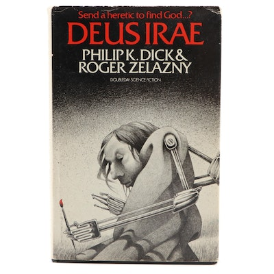 "First Edition ""Deus Irae"" by Philip K. Dick and Roger Zelazny, 1976"