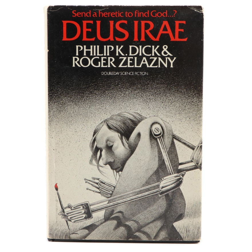 """First Edition """"Deus Irae"""" by Philip K. Dick and Roger Zelazny, 1976"""
