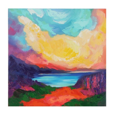 Alyona Glushchenko Landscape Oil Painting, 2020