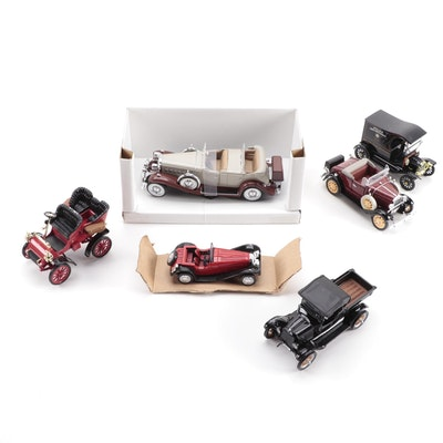 1932 Cadillac Sport Phaeton, 1903 Ford Model A, Diecast Cars and More