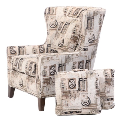 Smith Brothers of Berne Upholstered Wingback Armchair