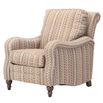 Smith Brothers of Berne Upholstered Reclining Armchair