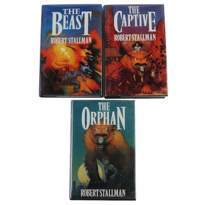 "First UK Editions ""Book of the Beasts"" Trilogy by Robert Stallman, 1989–1990"