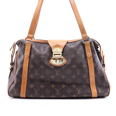 Louis Vuitton Stresa PM in Monogram Canvas and Vachetta Leather