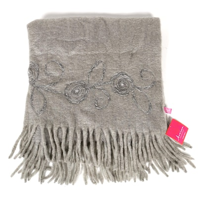Artisan Collection Wool Luxury Throw, Contemporary