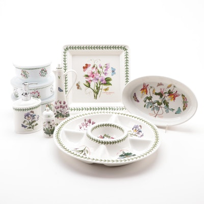 "Portmeirion ""Botanic Garden"" Ceramic Serveware and Table Accessories"