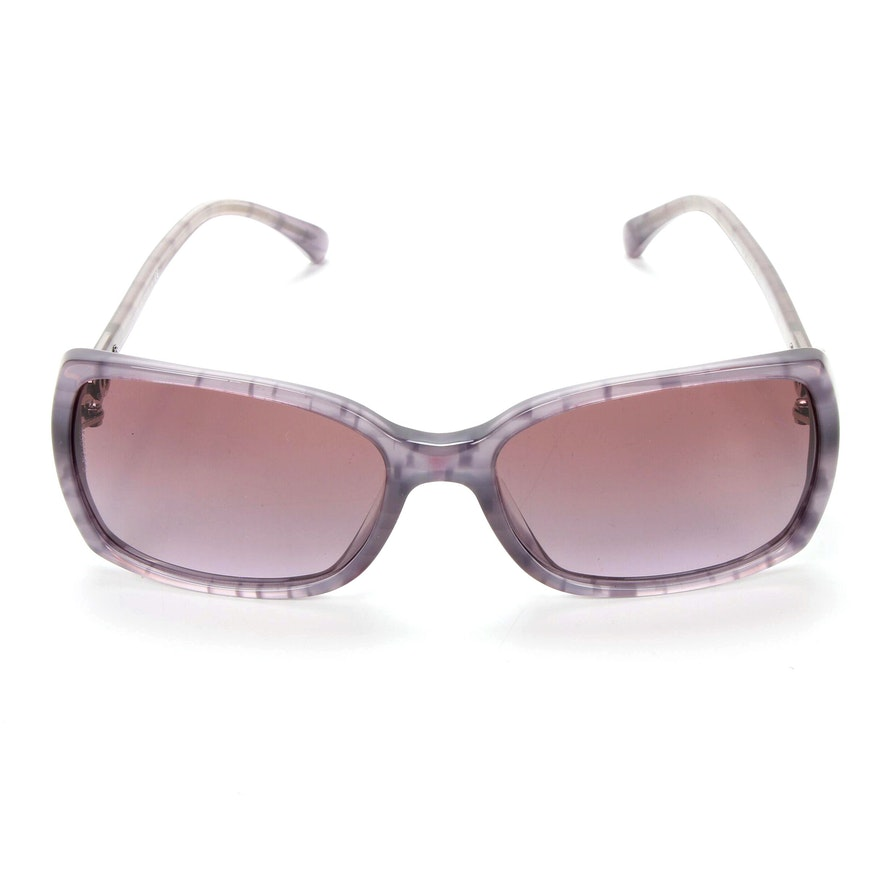 Chanel CC Logo 5218-A Sunglasses in Lilac Acetate with Case