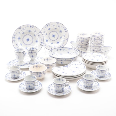 "Furnivals ""Denmark"" Ceramic Dinnerware and Serving Pieces"