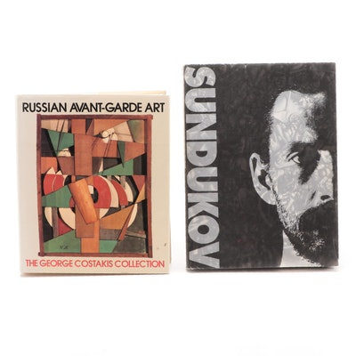 "Signed Limited Edition ""Sundukov"" with ""Russian Avant-Garde Art"""