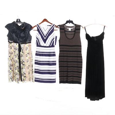 Max Studio, Amelia Toro, Karen Millen, and Kathryn Conover Dresses