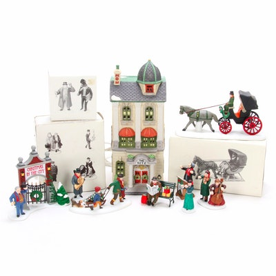 Heritage Village Collection Hand-Painted Porcelain Buildings and Accessories